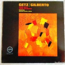 Discos de vinilo: GETZ - GILBERTO - LA CHICA DE IPANEMA - LP - VINILO. Lote 266542933