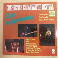 Discos de vinilo: CREEDENCE CLEARWATER REVIVAL - LIVE IN GERMANY (LP). Lote 266543198