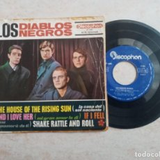 Discos de vinilo: LOS DIABLOS NEGROS.THE HOUSE OF THE RISING SUN.ETC..EP 1964. Lote 266547363