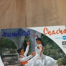 Discos de vinilo: 1967 LP RIMBAS SERIE AZUL CHACHO PERET Y SUS JUTANOS EMI DISCOS COLISEVM COLECCIONISMO. Lote 266549428