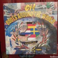 Discos de vinilo: OI! BOOTS AROUND THE WORLD VOLUME ONE. LP VINILO NUEVO.. Lote 266551518