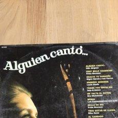 Discos de vinilo: ALGUIEN CANTO BELTER LP VINILO NUEVO DISCOS COLISEVM COLECCIONISMO ANTIGÜEDADES. Lote 266552153