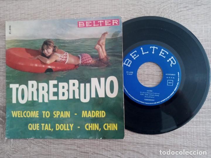 TORREBRUNO.MADRID .WELCOME TO SPAIN.ETC...EP AÑO 1964. (Música - Discos de Vinilo - EPs - Orquestas)