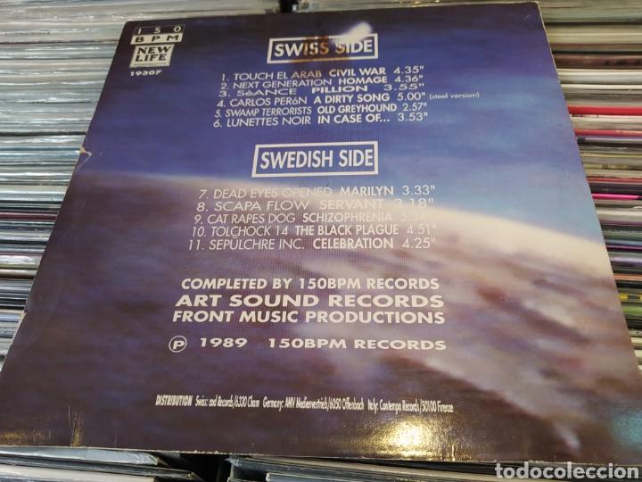 Discos de vinilo: Trans Europa (A Swiss - Swedish Techno-Compilation) Lp vinilo 1989. - Foto 2 - 266562138