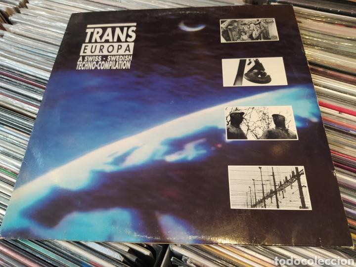 TRANS EUROPA (A SWISS - SWEDISH TECHNO-COMPILATION) LP VINILO 1989. (Música - Discos - LP Vinilo - Techno, Trance y House)