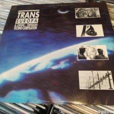 Discos de vinilo: TRANS EUROPA (A SWISS - SWEDISH TECHNO-COMPILATION) LP VINILO 1989.. Lote 266562138