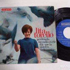 Discos de vinil: EP-LITA TORELLO-PERDONALA-1967-SPAIN-. Lote 266575843