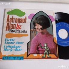 Discos de vinil: SINGLE-ASTRONAUT ALAN & THE PLANETS-FICKLE LIZZIE ANNE-1999-SPAIN-. Lote 266579148