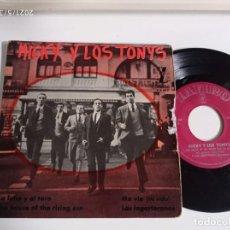 Discos de vinil: EP-MICKY Y LOS TONYS-LA LUNA Y EL TORO-1964-SPAIN-. Lote 266580103