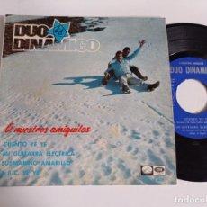 Discos de vinil: EP-DUO DINAMICO-A NUESTROS AMIGUITOS-CUENTO YE YE-1966-SPAIN-. Lote 266580743