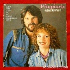 Discos de vinilo: PIMPINELA (SINGLE 1982) OLVIDAME Y PEGA LA VUELTA - DIMELO DELANTE DE ELLA. Lote 266603588