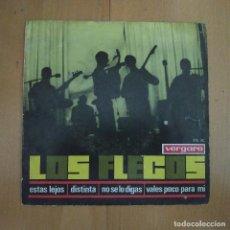 Discos de vinil: LOS FLECOS - ESTAS LEJOS / DISTINTA / NO SE LO DIGAS / VALES POCO PARA MI - EP VERGARA AÑO 1966. Lote 266609758