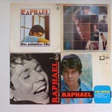 Discos de vinilo: RAPHAEL - LOTE 4 EP ORIGINALES - VER FOTOS ADICIONALES. Lote 266642868