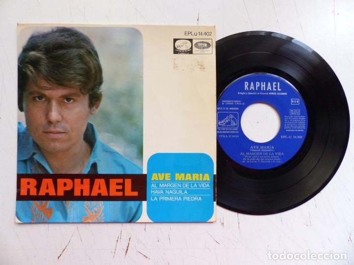 Discos de vinilo: RAPHAEL - LOTE 4 EP ORIGINALES - VER FOTOS ADICIONALES - Foto 2 - 266642868