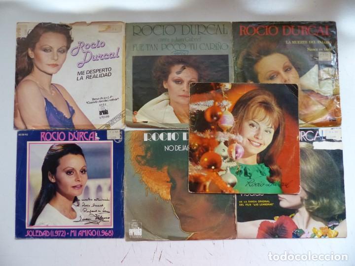 ROCIO DURCAL - LOTE 7 EP ORIGINALES - VER FOTOS ADICIONALES (Música - Discos de Vinilo - EPs - Solistas Españoles de los 70 a la actualidad)