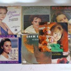 Discos de vinilo: ROCIO DURCAL - LOTE 7 EP ORIGINALES - VER FOTOS ADICIONALES. Lote 266642948