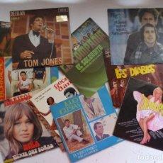 Discos de vinilo: SIMON GARFUNKEL, MARISOL, JULIO IGLESIAS, LOS BRINCOS, TOM JONES - 10 EP, VER FOTOS ADICIONALES. Lote 266643183