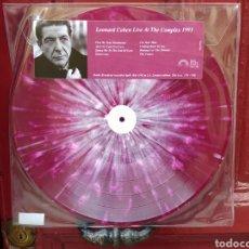 Discos de vinilo: LEONARD COHEN–LIVE AT THE COMPLEX 1993 . LP VINILO. NUEVO.. Lote 266657873