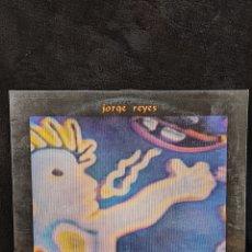 Disques de vinyle: LP JORGE REYES, NIERIKA. 1990. Lote 266684418