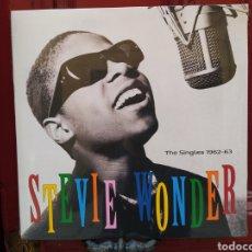 Discos de vinilo: STEVIE WONDER–SINGLES 1962-63 . LP VINILO PRECINTADO.. Lote 266701118