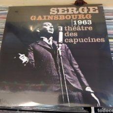 Discos de vinilo: SERGE GAINSBOURG–THÉÂTRE DES CAPUCINES 1963. LP VINILO NUEVO PRECINTADO. Lote 266705393