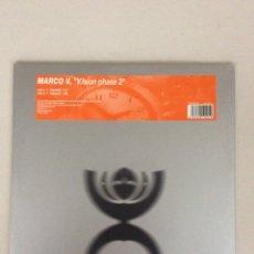Discos de vinil: MARCO V. V.ISION PHASE 2. TEMPROGRESSIVE.. Lote 266705773