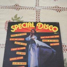Discos de vinilo: SPECIAL DISCO VOL 1 - JOHN FIRST SON ORCHESTRE SES CHANTEURS - 33 RPM - FRANCIA. Lote 266726903