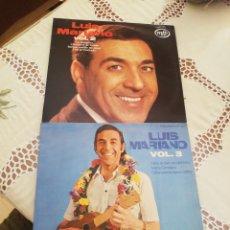 Discos de vinilo: LUIS MARIANO VINILO VOL 2 Y VOL 3 - MFP 33 RPM - ED. FRANCIA AÑOS 70. Lote 266735133