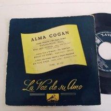 Dischi in vinile: ALMA COGAN-EP TWEEDLEEDEE +3. Lote 266742648