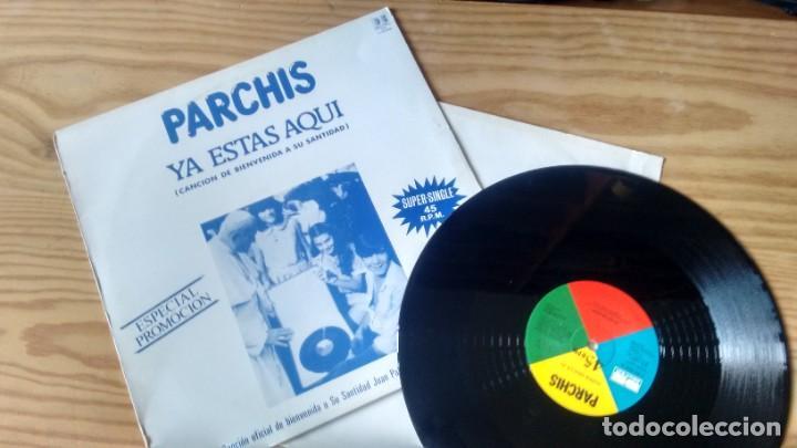 MAXISINGLE(VINILO) -PROMOCION- DE PARCHIS AÑOS 80 (Música - Discos de Vinilo - Maxi Singles - Música Infantil)