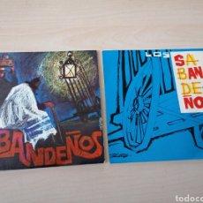 Discos de vinilo: LOTE SINGLES LOS SABANDEÑOS. REGISTROS SONOROS. FONOGUANCHE. TAM TAM. PORTADAS GALARZA. Lote 266763023