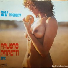 Disques de vinyle: FAUSTO PAPETTI - SAX RACCOTA 24. Lote 266769594