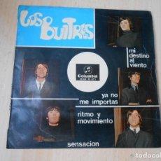 Dischi in vinile: BUITRES, LOS, EP , SENSACION + 3, AÑO 1965. Lote 266781404