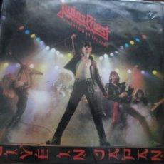 Discos de vinilo: JUDAS PRIEST. UNLEASHED IN THE EAST. LP. (1983 SPAIN). Lote 266782404