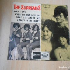 Dischi in vinile: SUPREMES, THE, EP , BABY LOVE + 3, AÑO 1964. Lote 266789674