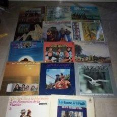 Discos de vinilo: LOTE DE 14 LPS DE LOS ROMEROS DE LA PUEBLA. Lote 266790589