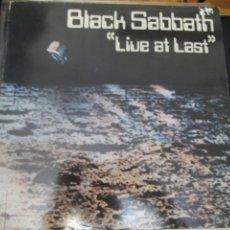 Discos de vinilo: BLACK SABBATH. LIVE AT LAST. (LP). (1980). Lote 266792604