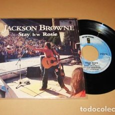 Dischi in vinile: JACKSON BROWNE - STAY / ROSIE - SINGLE - 1978. Lote 266816944