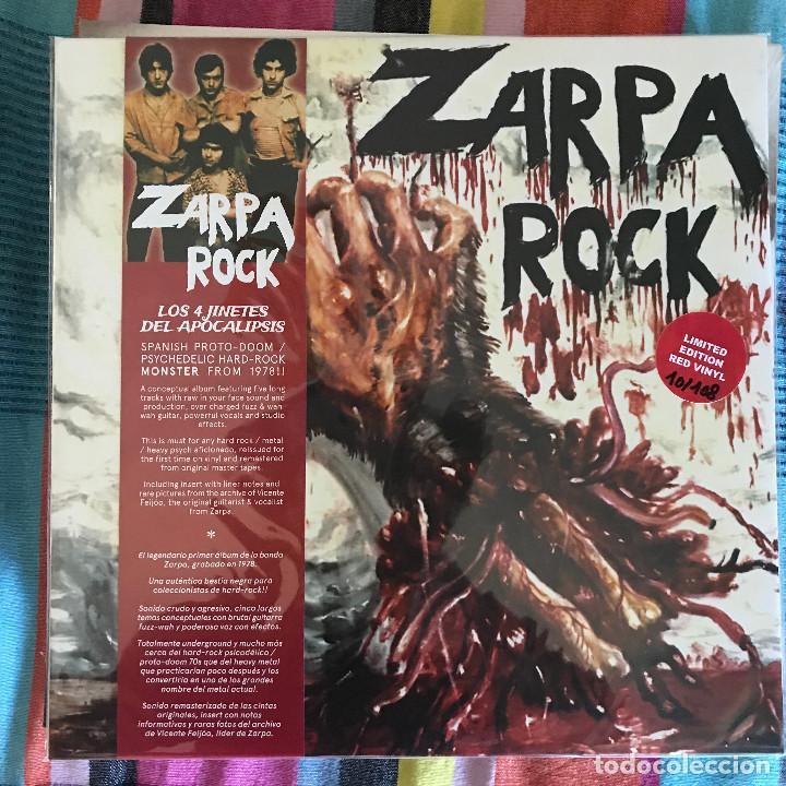 ZARPA ROCK - LOS 4 JINETES DEL APOCALIPSIS (1978) - LP REEDICIÓN SOMMOR 2021 NUEVO - ROJO (Música - Discos - LP Vinilo - Grupos Españoles de los 70 y 80)