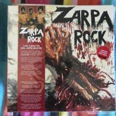 Disques de vinyle: ZARPA ROCK - LOS 4 JINETES DEL APOCALIPSIS (1978) - LP REEDICIÓN SOMMOR 2021 NUEVO - ROJO. Lote 266831274
