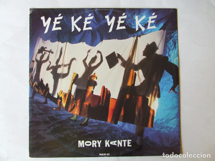 MAXI SINGLE VINILO MORY KANTE YE KE YE KE (Música - Discos de Vinilo - Maxi Singles - Étnicas y Músicas del Mundo)