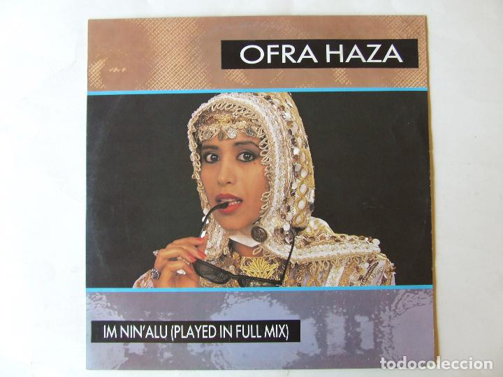 MAXI SINGLE VINILO OFRA HAZA IM NIN'ALU (PLAYED IN FULL MIX) EDICION ALEMANA (Música - Discos de Vinilo - Maxi Singles - Étnicas y Músicas del Mundo)