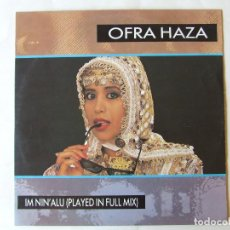 Discos de vinilo: MAXI SINGLE VINILO OFRA HAZA IM NIN'ALU (PLAYED IN FULL MIX) EDICION ALEMANA. Lote 266837139