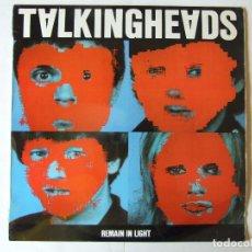 Disques de vinyle: LP VINILO TALKING HEADS REMAIN IN LIGHT EDICION ESPAÑOLA. Lote 266840214