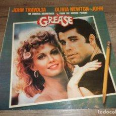 Disques de vinyle: BSO DE LA PELICULA GREASE (2LPS) (SPAIN 1978). Lote 266844889