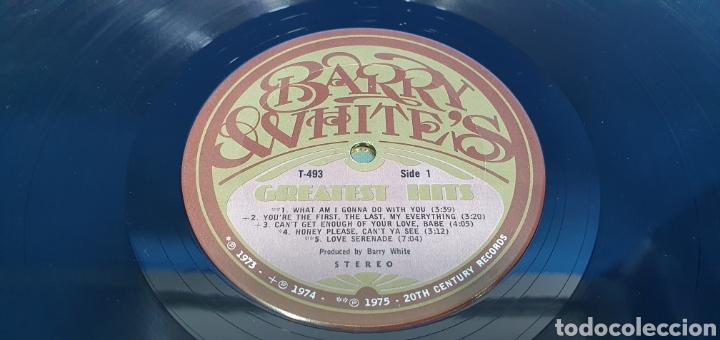 Discos de vinilo: BARRY WHITES - GRESTEST HIST - 1973/74/75 - Foto 2 - 266848249