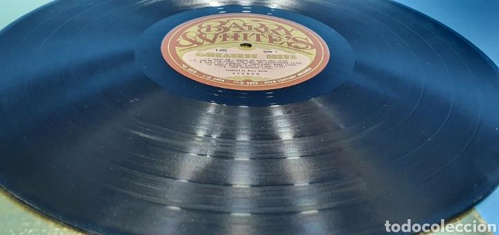 Discos de vinilo: BARRY WHITES - GRESTEST HIST - 1973/74/75 - Foto 3 - 266848249