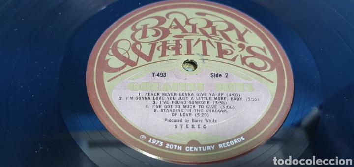 Discos de vinilo: BARRY WHITES - GRESTEST HIST - 1973/74/75 - Foto 6 - 266848249