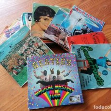Discos de vinilo: LOTE DE 32 DISCOS DE VINILO SINGLE CON CARATULA+1 DISCO SINGLE SIN CARATULA+6 CARATULAS SIN DISCO.. Lote 266869519