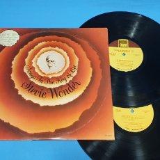 Discos de vinilo: SONGS IN THE KEY OF LIFE - STEVIE WONDER. Lote 266880794